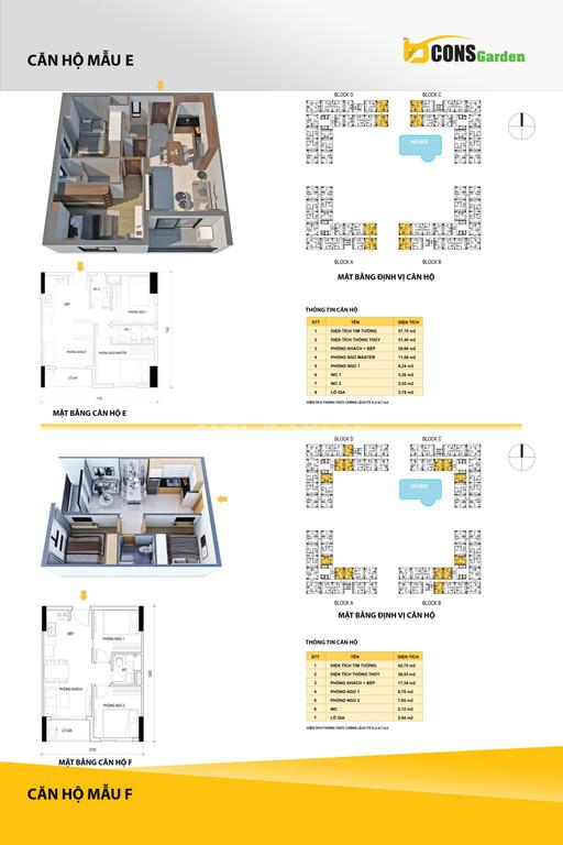 Giới thiệu căn hộ Bcons Garden, căn 2pn chỉ 1tỷ058tr, trả trước 132tr