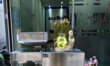 Máy ép dầu lạc dùng trong gia đình inox cao cấp TP174