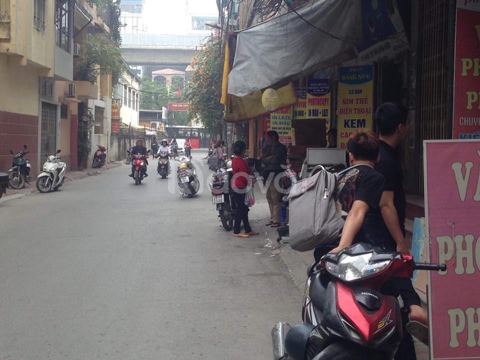 Bán nhà Nguyễn Trãi Thanh Xuân 55m 5 tầng ô tô kinh doanh sầm uất.