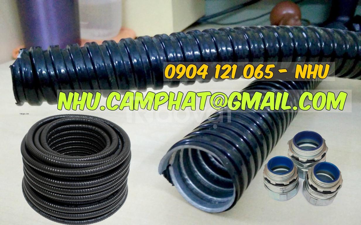Đại lý ống ruột gà, đại lý ống kẽm đàn hồi bọc nhựa pvc