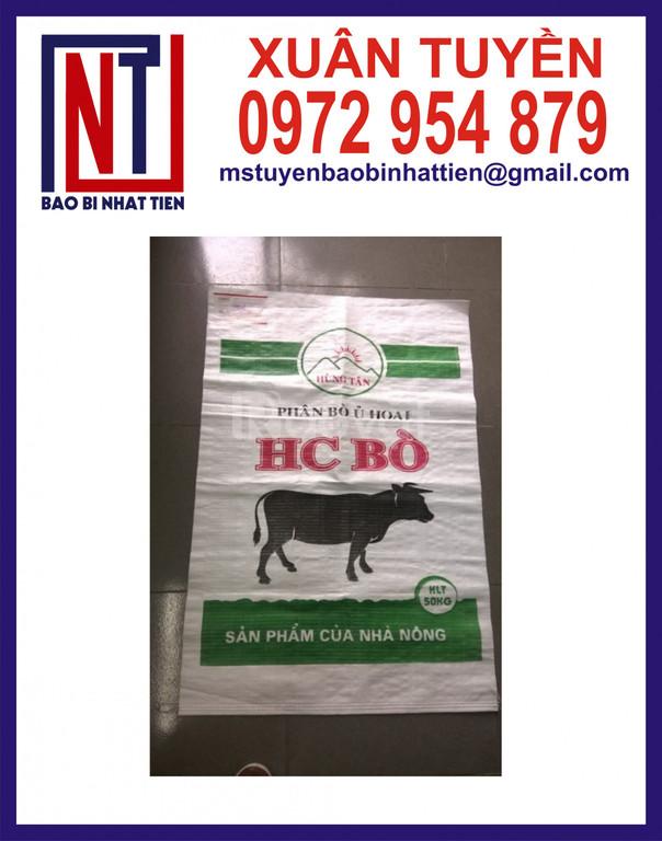 Bao bì đựng thức ăn gia súc và gia cầm