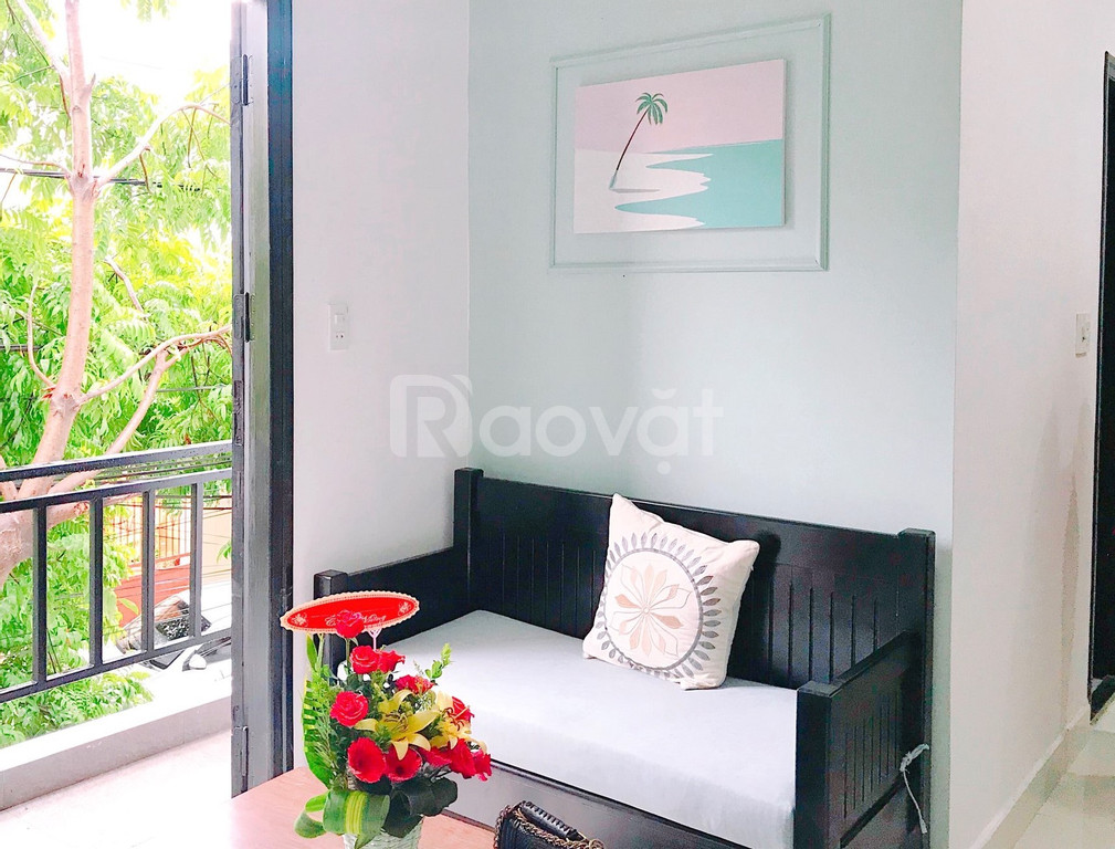 Cho thuê căn hộ 40m2 trung tâm Đà Nẵng đường Điện Biên Phủ