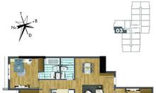 Bán căn 3PN chung cư Goldmark view Đông Nam - Đóng 50% nhận nhà về ở