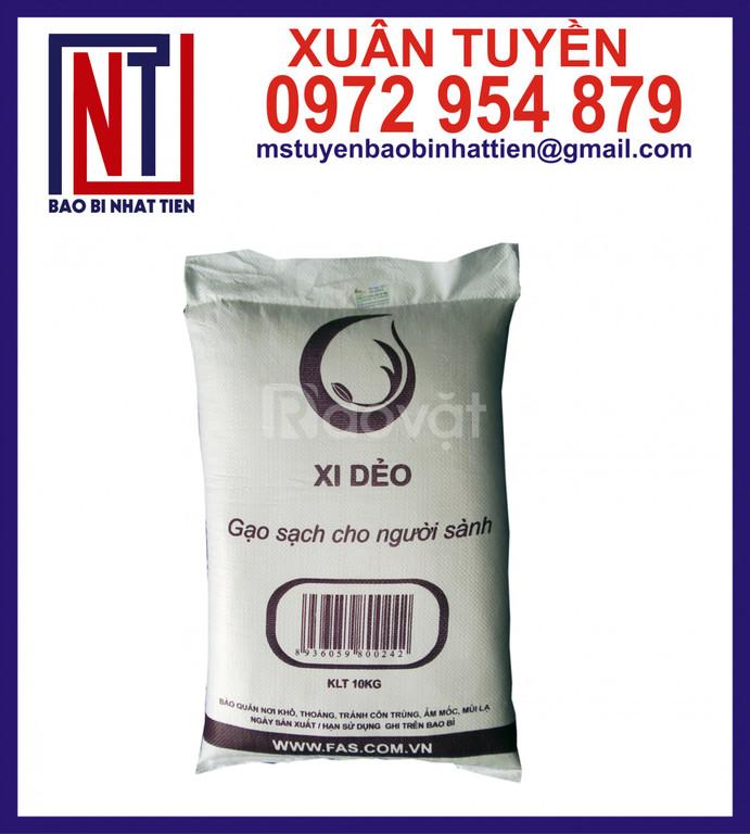 Bao đựng gạo, bao bì gạo 50kg giá rẻ