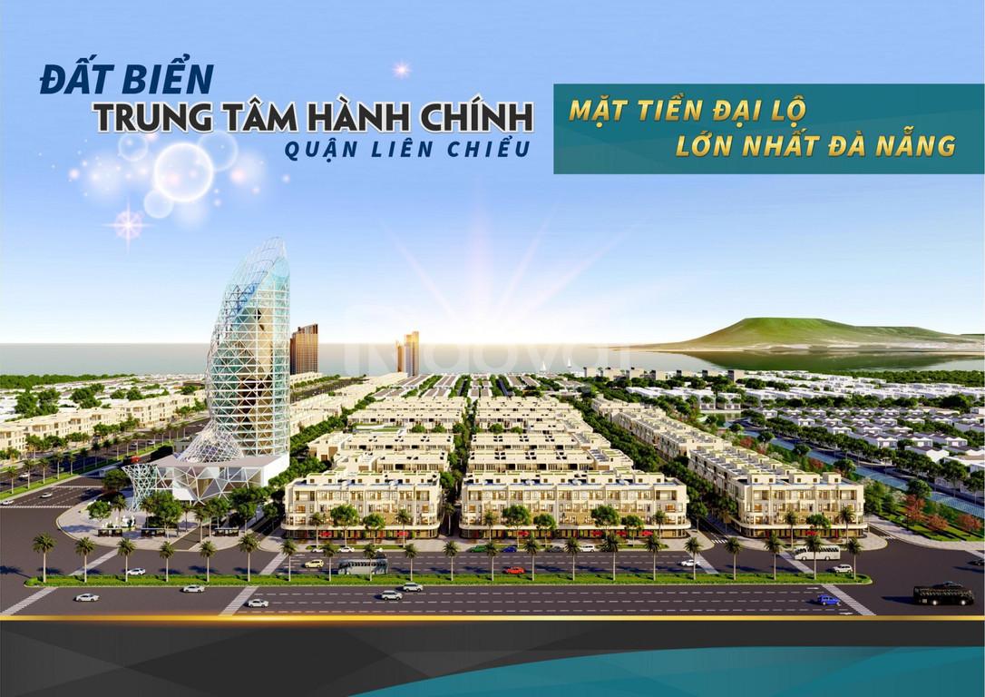 Bán 2 lô liền kề trục Nguyễn Sinh Sắc, đã có sổ, đối diện new Vincom