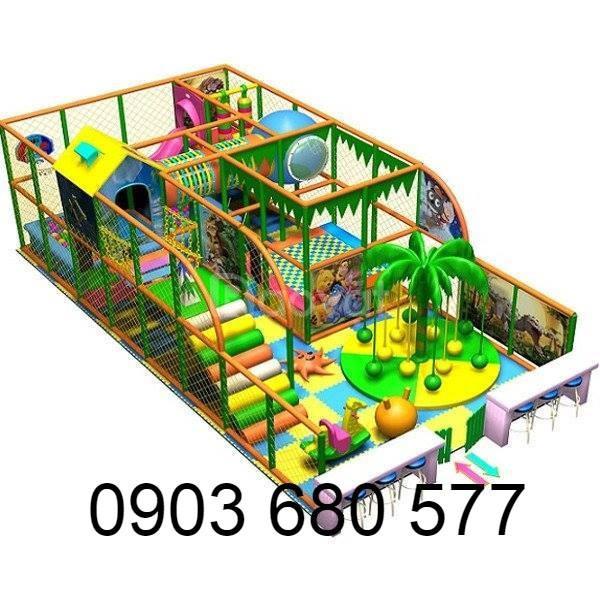 Nhận tư vấn, thiết kế, thi công khu vui chơi liên hoàn cho trẻ em