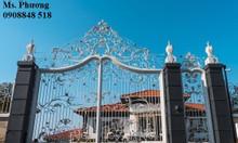 Cửa cổng sắt uốn cổ điển lên ngôi 2019