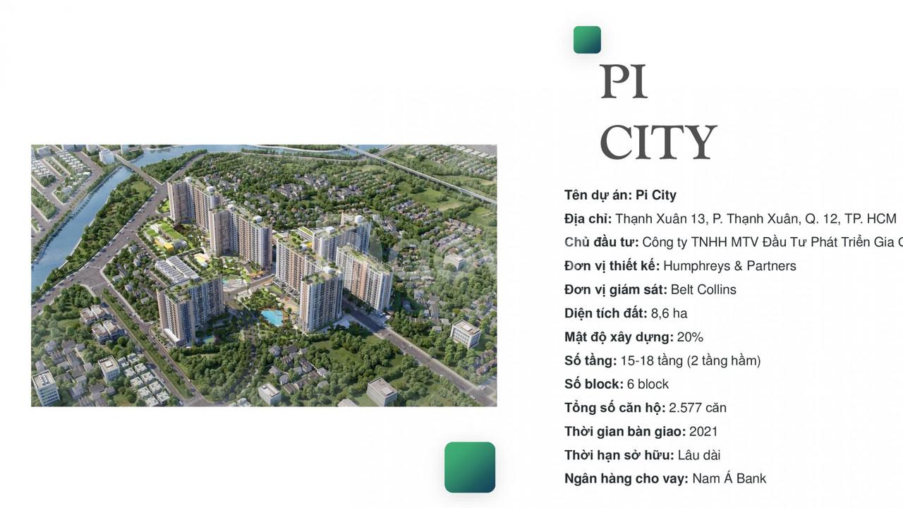 Chính thức nhận giữ chổ dự án Picity High Park Quận 12