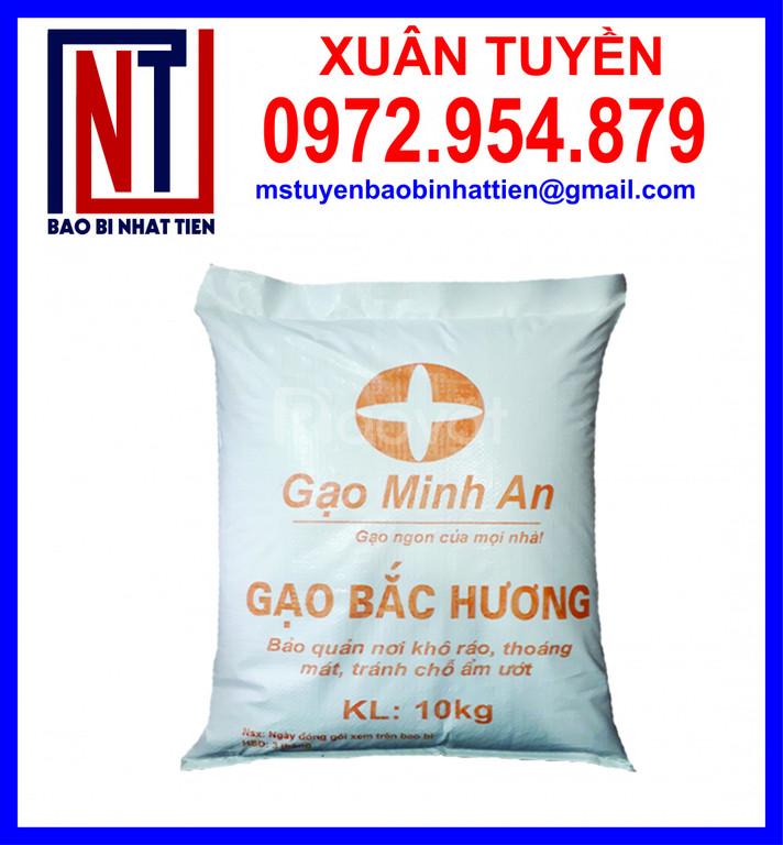 Cung cấp các loại bao PP dệt đựng gạo