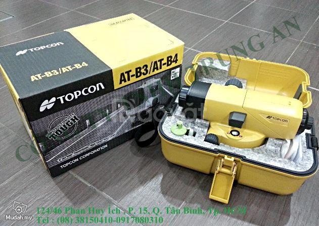 Máy thủy bình Topcon At-B4A lấy chuẩn cao độ