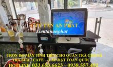 Trọn bộmáy tính tiền cho tiệm trà chanhtại Đà Nẵng