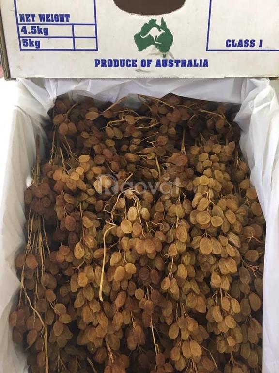 Địa chỉ bán Nho Khô Nguyên Cành Úc tại Quận 6 TP HCM