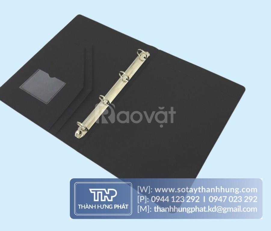 Xưởng sản xuất bìa da đựng hồ sơ theo yêu cầu