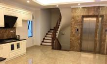 Nhà phân lô Hồ Hoàng Cầu, 2 mặt thoáng, ôtô vào nhà, thang máy, 50mx5t