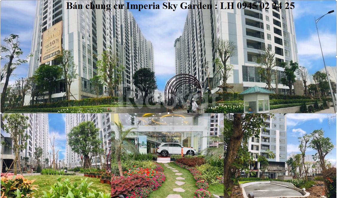 Bán cănD0309 và  D0409 tạ Imperia Sky Garden.