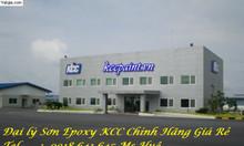 Sơn Epoxy màu Green xanh nền nhà xưởng tại Quận 2, Quận 8