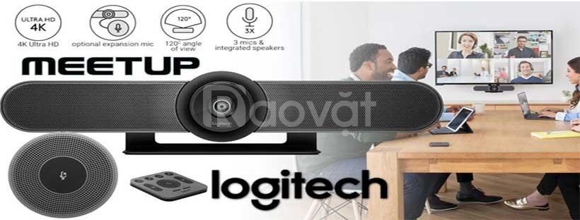 Logitech Meetup webcam cho phòng họp hội nghị nhỏ