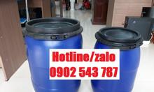 Thùng phuy hóa chất 50 lít, thùng nhựa 50 lít HDPE đựng hóa chất