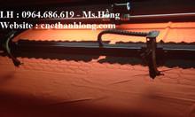 Máy cắt vải laser 1610, máy laser 2 đầu mặt bàn cuộn tự động