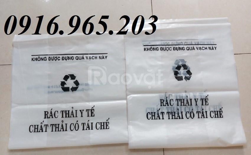Túi nilon đựng rác y tế