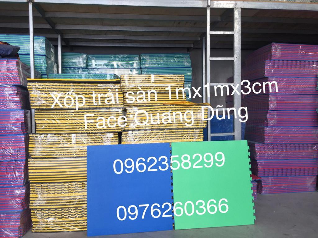 Thảm xốp 1m x 1m x 3cm