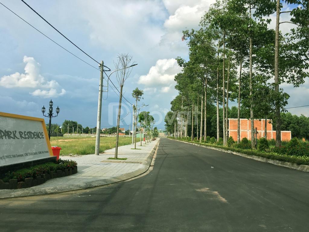 Lô gốc 2 mặt tiền 210m2 full thổ cư, dự án KDC Song Phương, Phước Thái