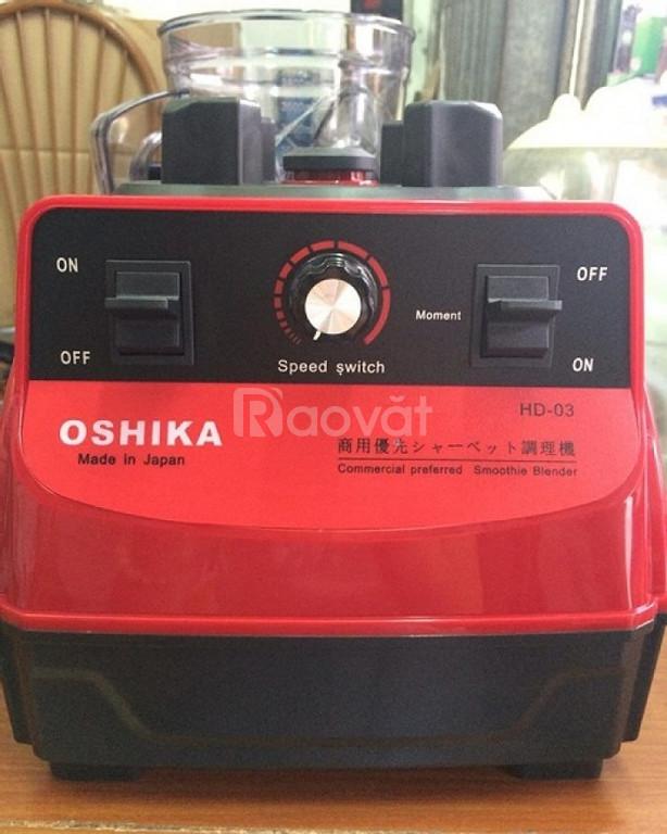 Máy xay sinh tố công nghiệp, xay đậu nành Nhật Bản Oshika HD-03