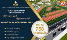 Nhận đặt chỗ dự án đất nền khu đô thị An Viên Central Park Bà Rịa