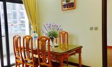 Cho thuê căn hộ cao cấp tại chung cư Tràng An Complex, 2pn, full nt