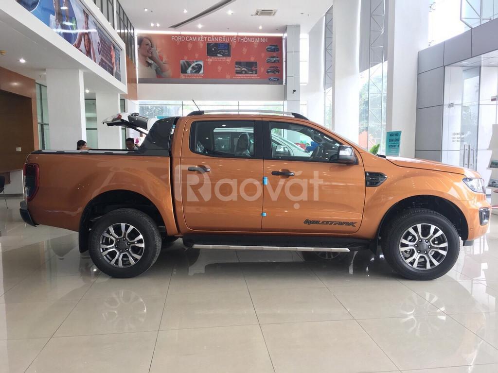Ford Ranger Wildtrak 2.0 bi-turbo - giá ưu đãi hấp dẫn cuối tháng