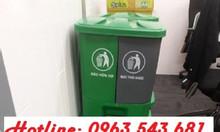 Thùng rác 2 ngăn giải pháp tốt cho môi trường