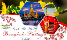 Tour Thái Lan Tết 2020 - Bangkok Pattaya