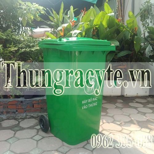 Bán thùng rác công cộng 240 lít tại Hà Nội
