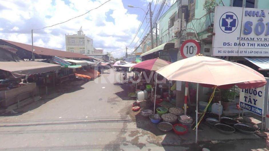 Đất mặt tiền đường Giồng Cát – chợ chiều Tân Phú Trung – Củ Chi