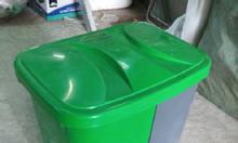 Thùng rác 2 ngăn 40 lít