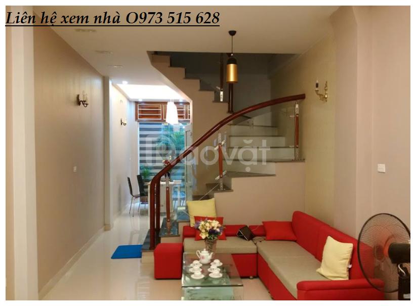 Nhà Đẹp Trần Thái Tông 43m2, 5 tầng, MT 5m. Giá 4,2 tỷ (ảnh 1)
