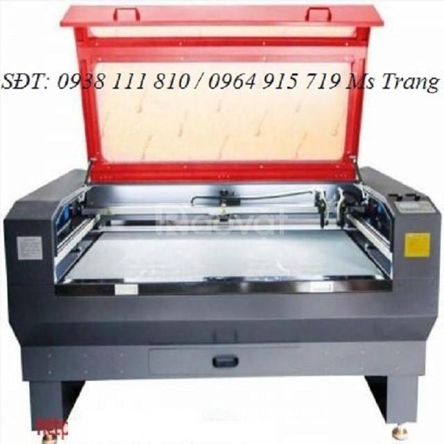 Máy cắt laser 1610 2 đầu 120w, máy laser cắt khắc gỗ