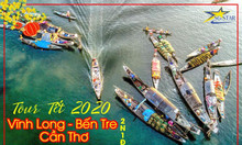 Tour Vĩnh Long – Bến Tre – Cần Thơ 2N1Đ – Tết 2020