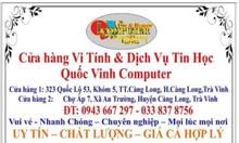 Dịch vụ thiết kế in ấn chuyên nghiệp tại Trà Vinh Quốc Vinh Computer