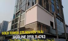 Văn phòng hạng A Gold Tower Nguyễn Trãi, 82m2 - 145.1m2