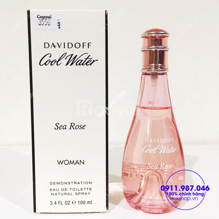 Nước hoa nữ Davidoff Cool Water Sea Rose Woman EDT 100ml tester