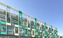Nhà 1 trệt 3 lầu mặt tiền quốc lộ 13 - khu dân cư Dvillage Thủ Đức