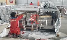 Đóng gói hàng hóa thiết bị inox tại các nhà máy