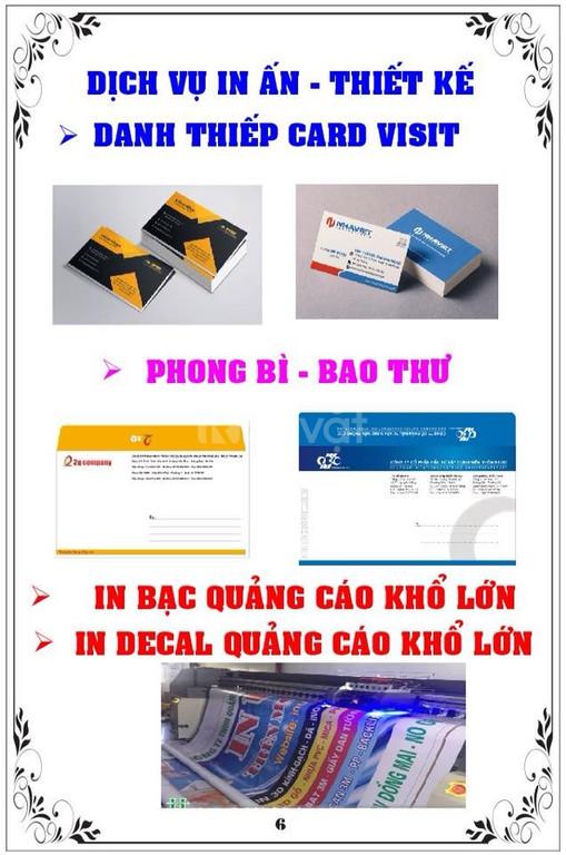 Dịch vụ thiết kế in ấn chuyên nghiệp tại Trà Vinh