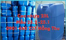 Gía can nhựa, thùng nhựa 30 lít, can 20 lít mua ở TPHCM