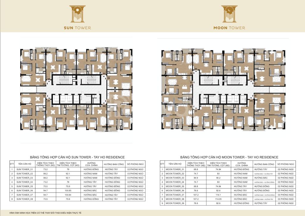 Bán Tây Hồ Residence. Giá 3,1 tỷ/ căn góc 74,7m2, vay LS 0%, KM 70tr