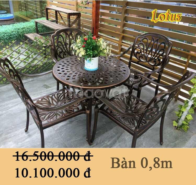 Bàn ghế sân vườn tại Hà Nội