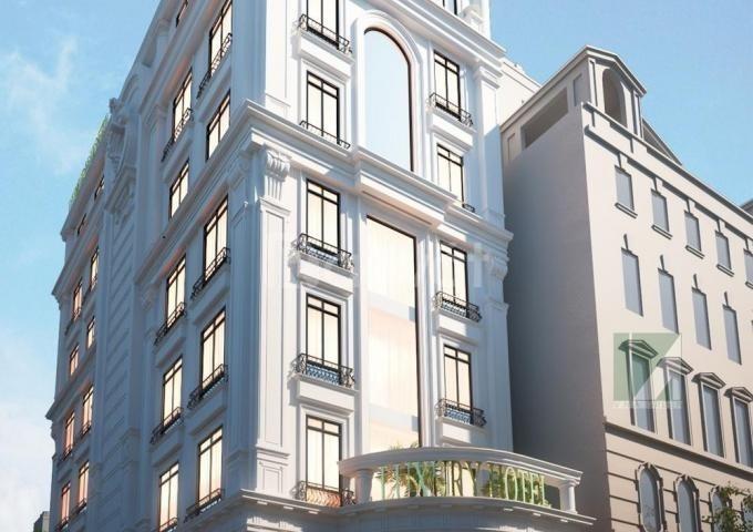 Nhà 9 tầng thang máy, mặt phố, thu đều 130tr/tháng