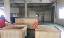 Quy trình đóng thùng gỗ xuất khẩu thiết bị máy móc