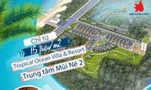 Đất biệt thự biển dự án Tropical ocean villa & resort Phan Thiết